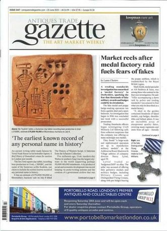 Antiques Trade Gazette Magazine