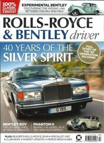 Rolls-Royce & Bentley Driver Magazine