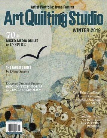 Art Quilting Studio Magazine